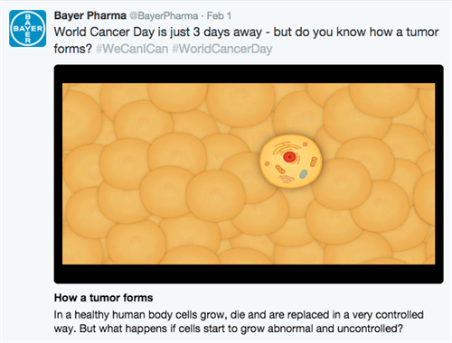 0201 Bayer Pharma Twitter