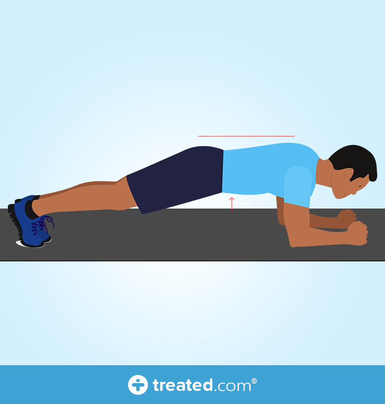 plank chest