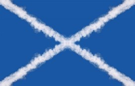Scotland Cloud Flag