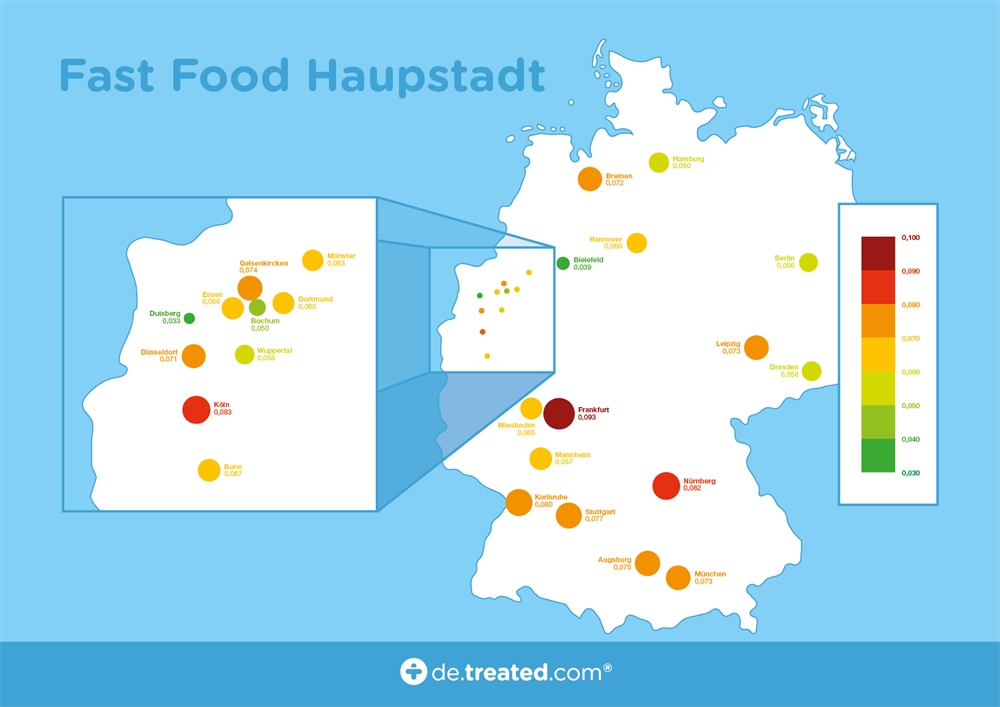 TREATED - DE - Fast Food Map