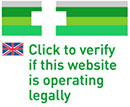 click to verify if this website is operaring legally