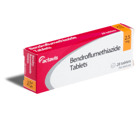 Buy Bendroflumethiazide Online 25 Or 5mg Tablets Treated Uk