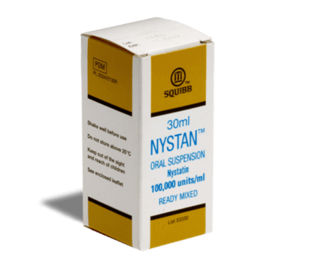 Nystan Oral Suspension