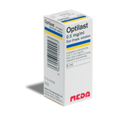 Optilast (Allergodil colírio)